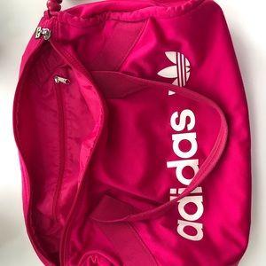 adidas Bags - Adidas medium pink duffle sports gym tote bag